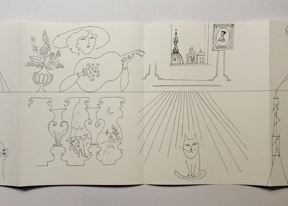 4 Leporellos / Saul Steinberg
