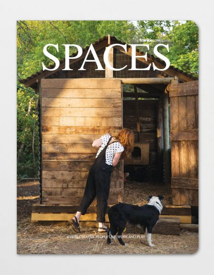 SPACES volume two by frankie magazine