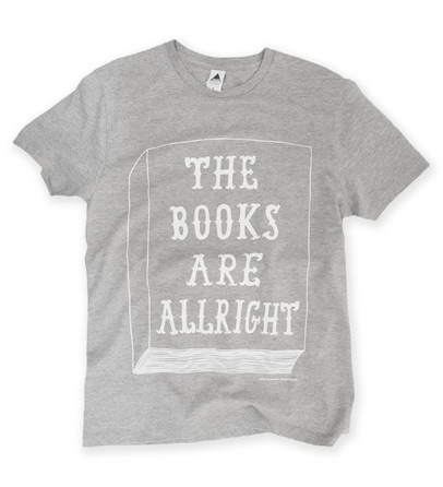 THE BOOKS ARE ALLRIGHT Tシャツ